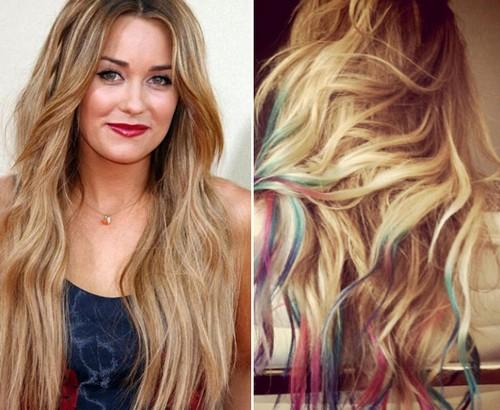 Capelli biondi con punte rosse – Tagli di capelli popolari 2019 06464f7d2070