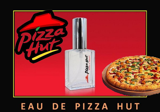 Beauty news eau de pizza la prima fragranza by pizza for Oficinas de pizza hut