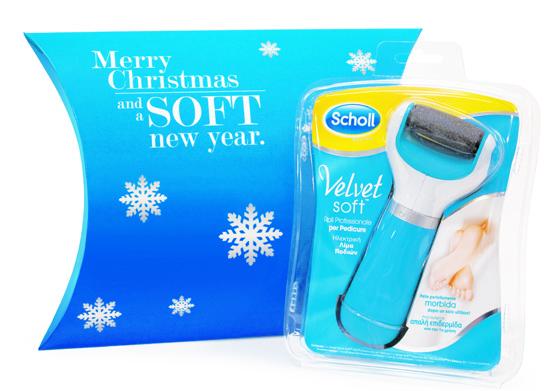 Scholl Velvet Soft_Pack Natale