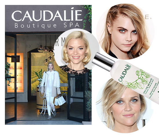 caudalie celebrities