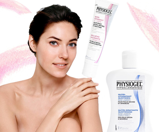 physiogel_crema e base lavante