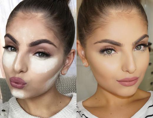 baking makeup tecnica