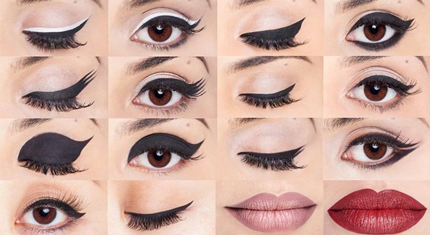 invenzione per aiutare le donne a mettere eyeliner bene