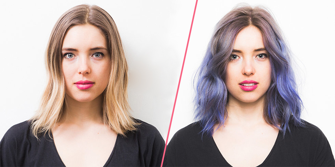 tendenza rainbow hair