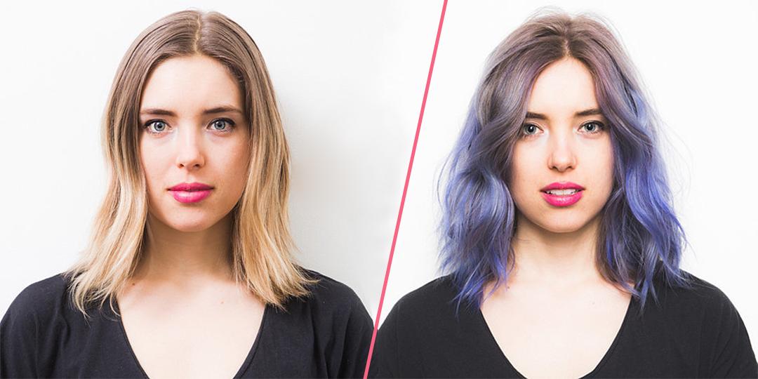 tendenza rainbow hair