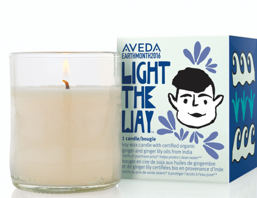 Light the way candle_AVEDA