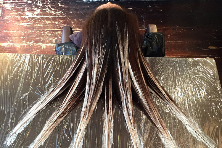 layage come si realizza colorazione capelli